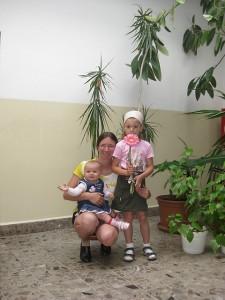 Já s dětmi